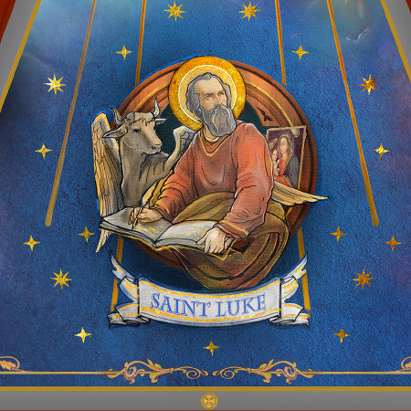 St. Luke - Dome Mural