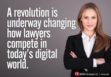 A revolution for lawyers and law firms.
