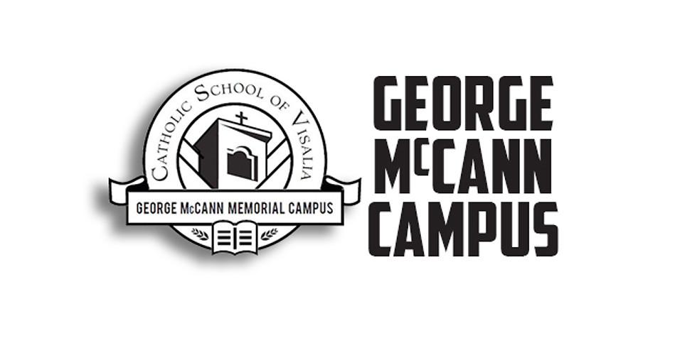 Sunday Mass at George McCann Campus