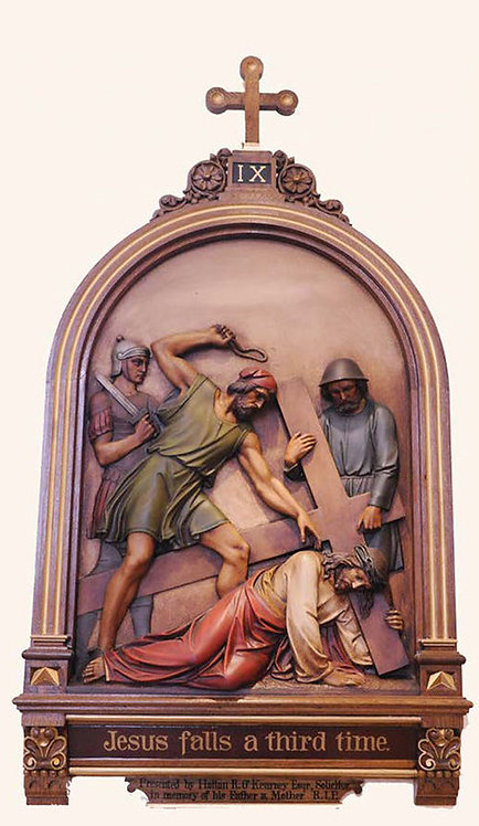 Station 9: Jesus Falls for the Third Time