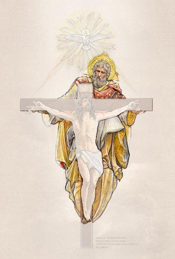 Retablo God, The Father