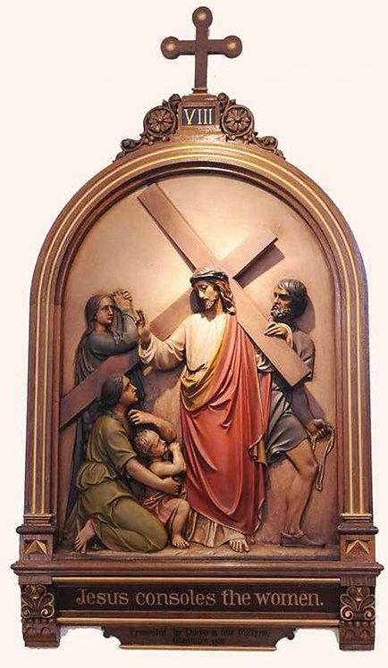 Station 8: Jesus Meets the Women of Jerusalem