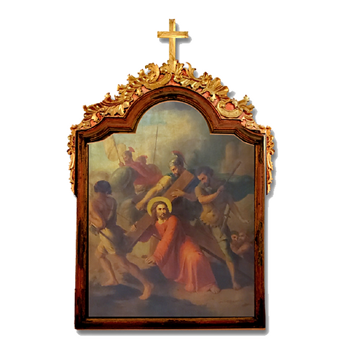 Station 5: Simon of Cyrene Helps Jesus Carry the Cross