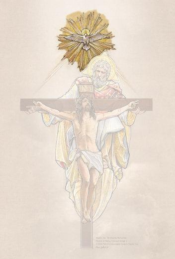 Retablo Holy Spirit