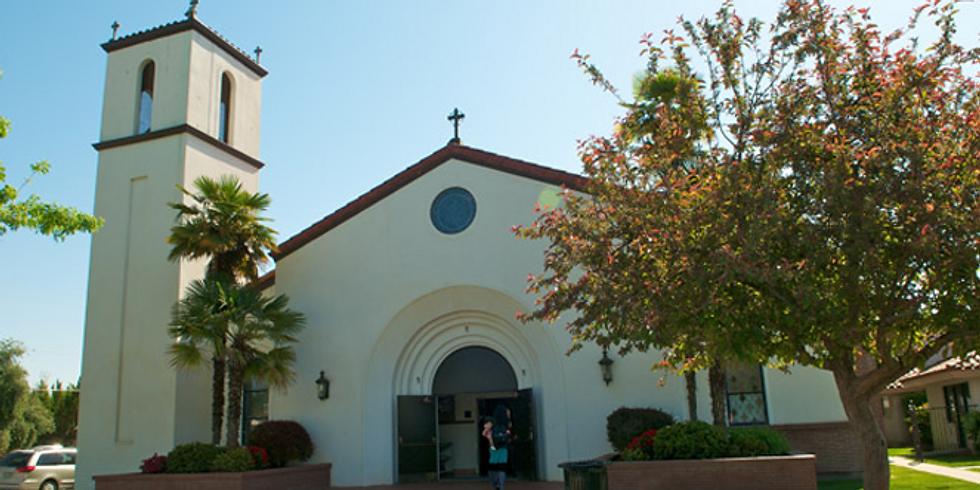 Misa de vigilia - Holy Family