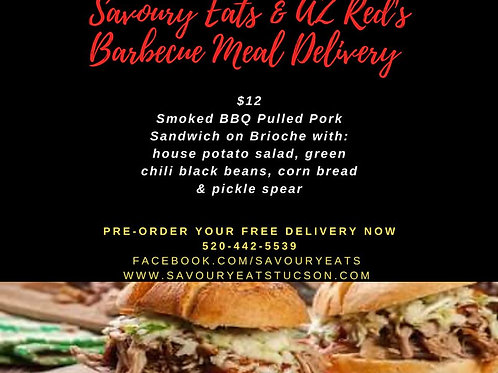 BBQ Special - Wednesday & Friday Delivery