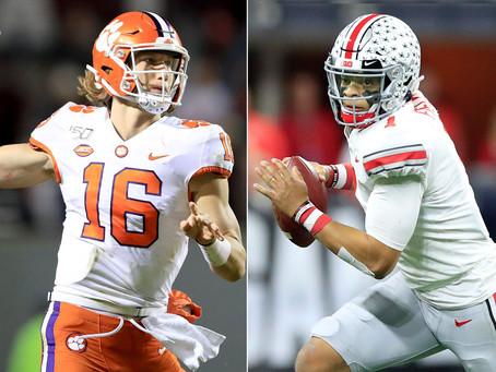 How Trevor Lawrence and Justin Fields are the clear-cut top 2 Quarterbacks in next year's NFL Draft