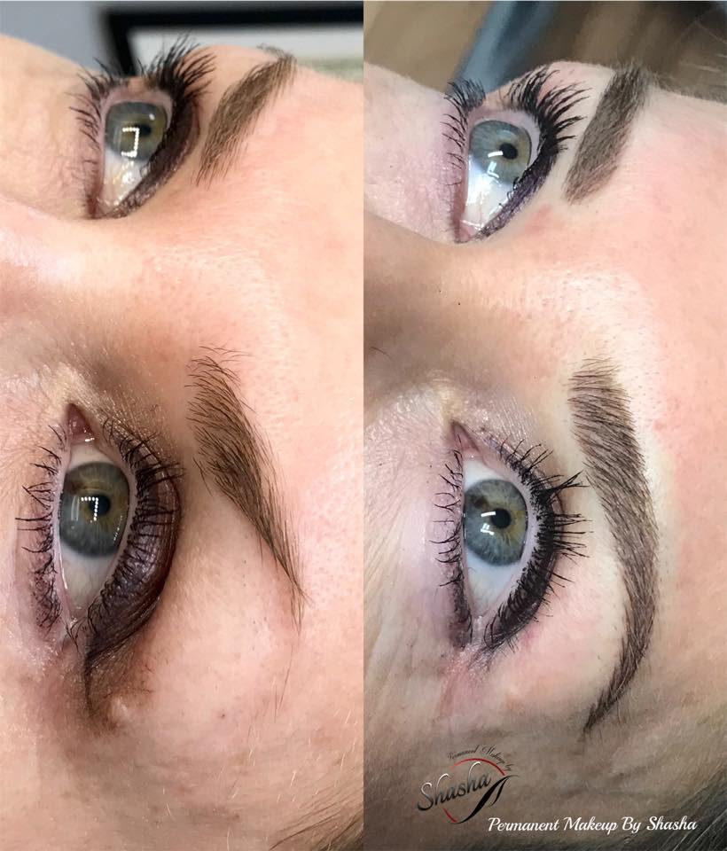 Micro Shading Brows