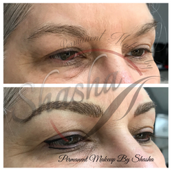 Eyeliner and Microblading Brows