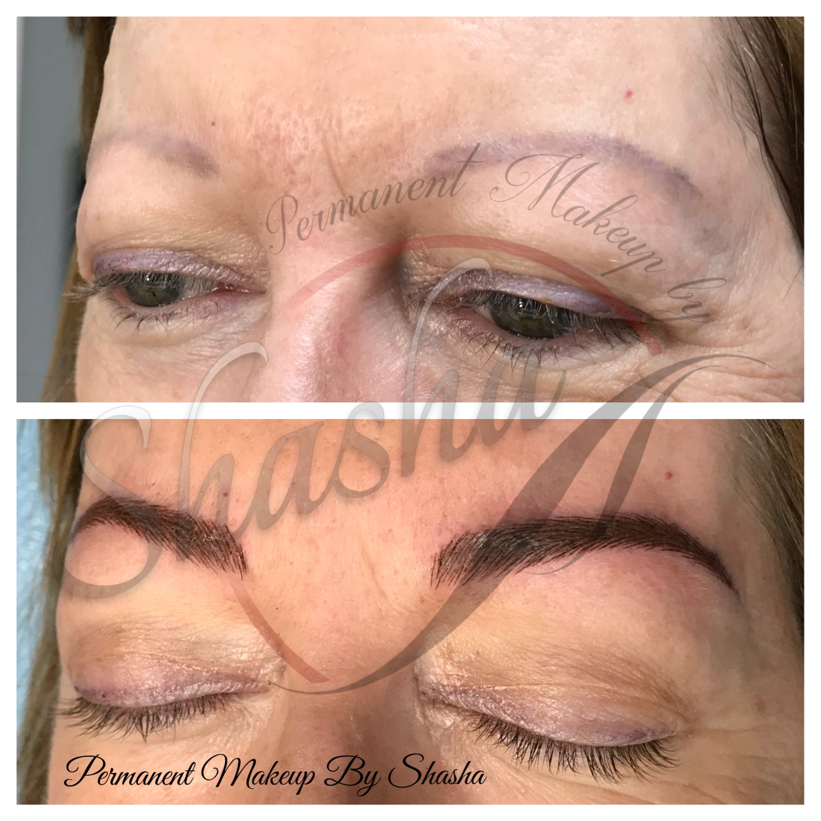 Microblading Brows Correction