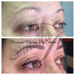 Eyeliner and Microblading