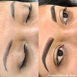 Brow Color and Shape Correction