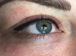 Top and lash line