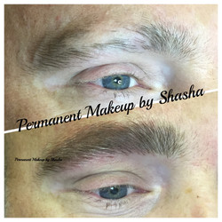 Microblading Male Brows.