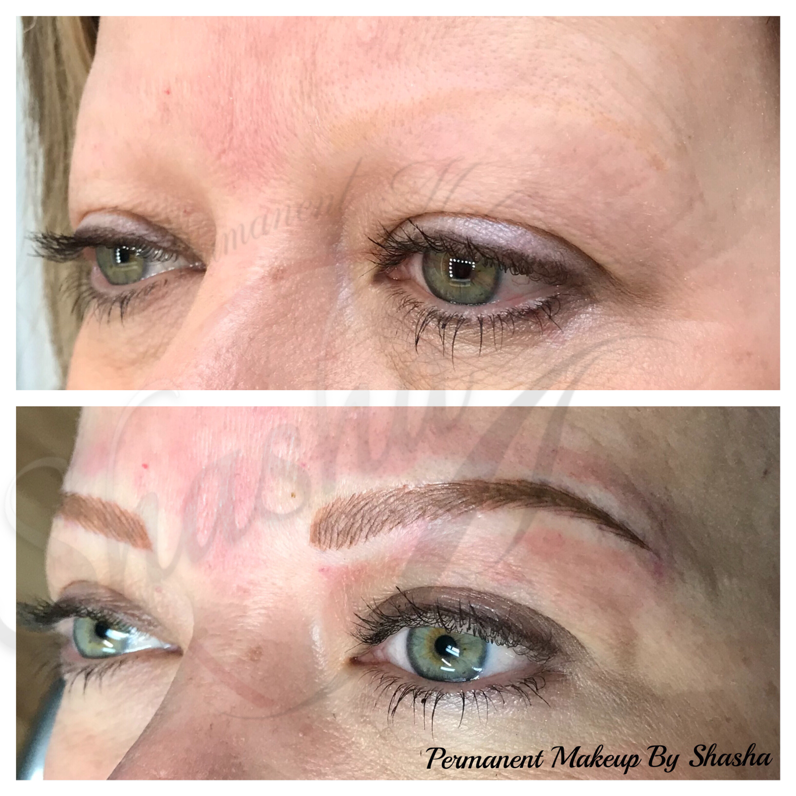Brow Shape and Color Correction