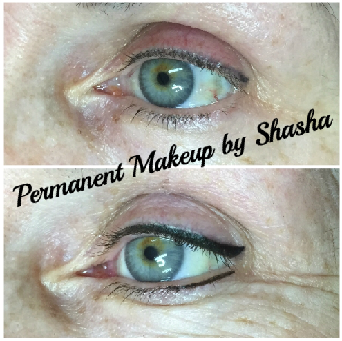 Eyeliner Shape and Color correction