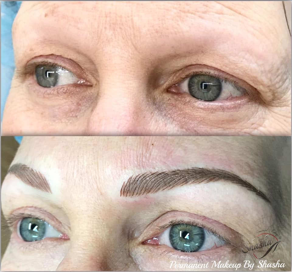 Nano Brows for Alopecia Client