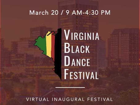 Inaugural Virginia Black Dance Festival