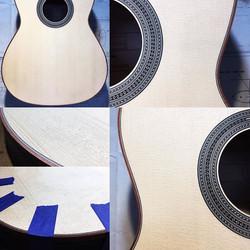 Guitar #009, Engelmann Spruce with Blood