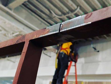 Custom Steel Feature Stair | Midtown Manhattan