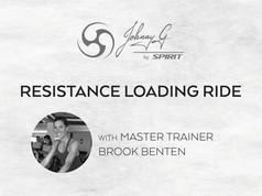 Resistance Loading Ride – Brook Benten