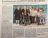 Article presse Vole vole Ouest France