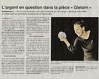 Article presse Gletarn Ouest France