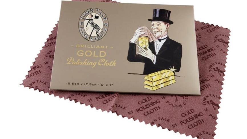 TOWN TALK - Gold Polishing Cloth