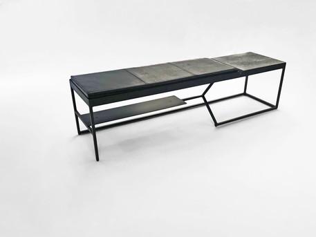 Grey Bird Bench