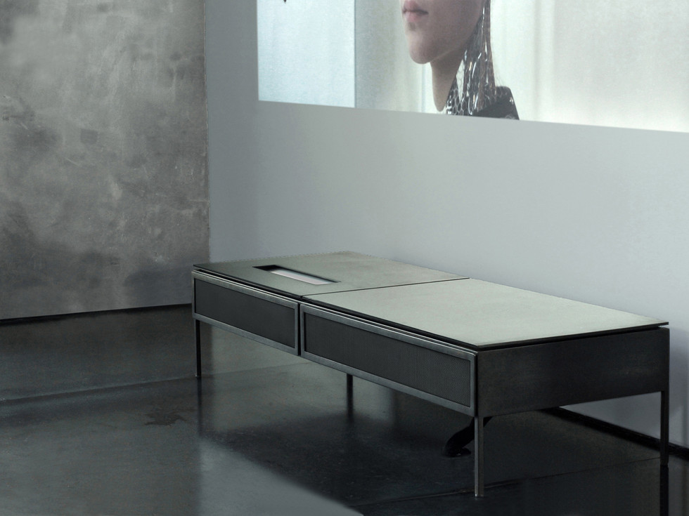 ultra short throw projector cabinet