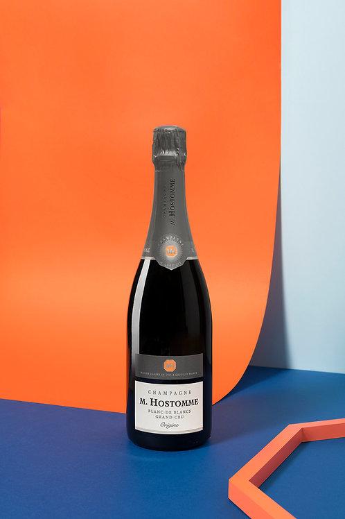 """Champagne M.Hostomme """"Origine"""" demie 19,50€/u (par 6)"""