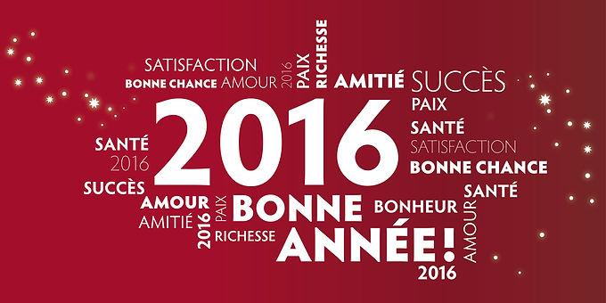 Prestiges de France vous souhaite un excellent millésime 2016 !
