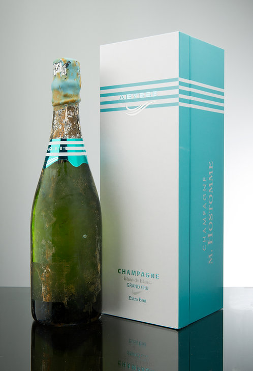 "1 x Champagne Hostomme ""Abysse"" 0818 75cl Coffret"