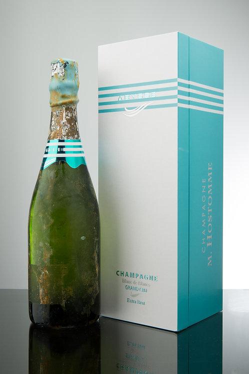 """Champagne Hostomme """"Abysse"""" 0819 75cl Coffret à l'unité"""