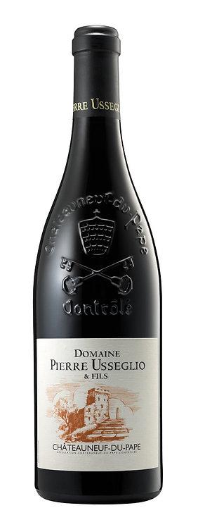 Chateauneuf du Pape Usseglio rouge 2016 75cl (Soit 36,90€ttc la ble/par 6)