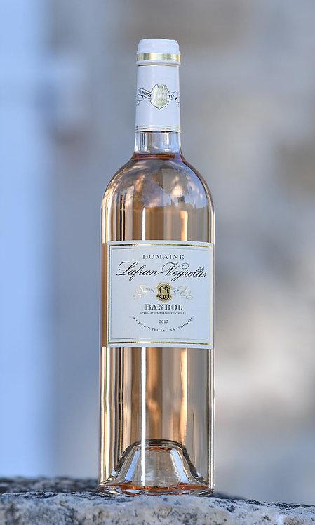 Bandol rosé Dom. Lafran-Veyrolles 2019 75cl (Soit 18,60€ttc la bouteille/par 6)