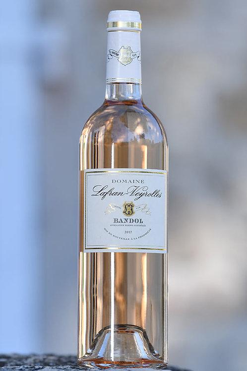 6 x Bandol rosé Bio Domaine Lafran-Veyrolles 2018 75cl (21,20€ttc)