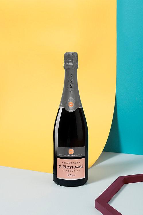 """Champagne M.Hostomme """"Rosé"""" Brut 75cl (Soit 38,60€ttc la ble/par 6)"""