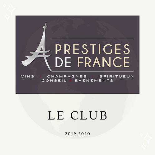 Adhésion Club Prestiges de France