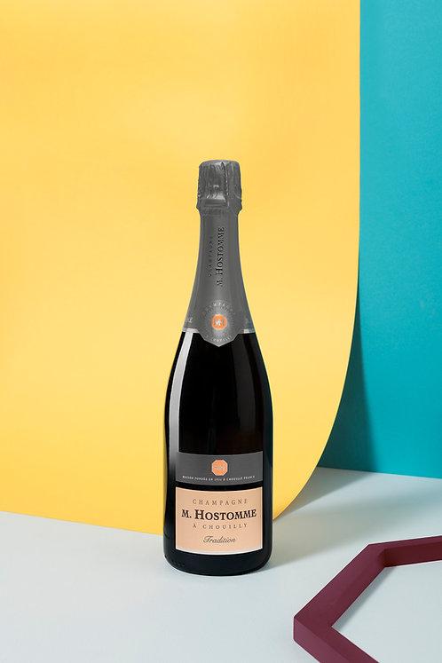 """Champagne M.Hostomme """"Tradition"""" 75cl (Soit 28,90€ttc la ble/par 6)"""