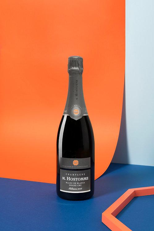 Champagne Hostomme Grand Cru Blc/Blcs Mill. 2008 75cl (Soit 60,00€ la ble/par 6)