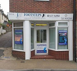 Footsteps Chiropody and Podiatry services on the Isle of Wight