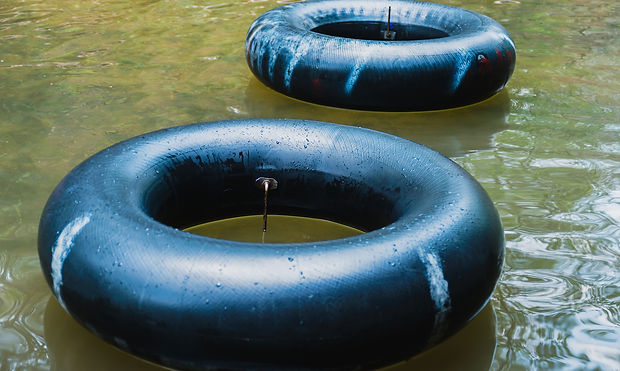 RIVER TUBING WITH SOBER FRIENDS