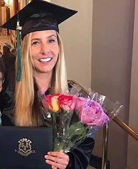 Sober Woman Graduating College