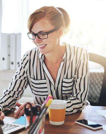 Successful Female Entrepreneur With A Ne