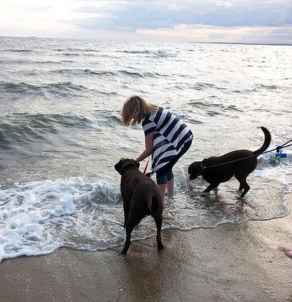 Cole on the Beach