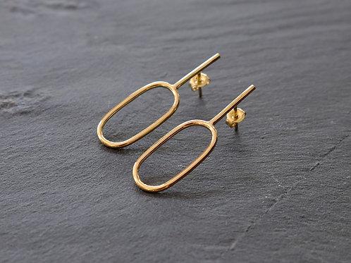 Agnes earrings - 9k gold