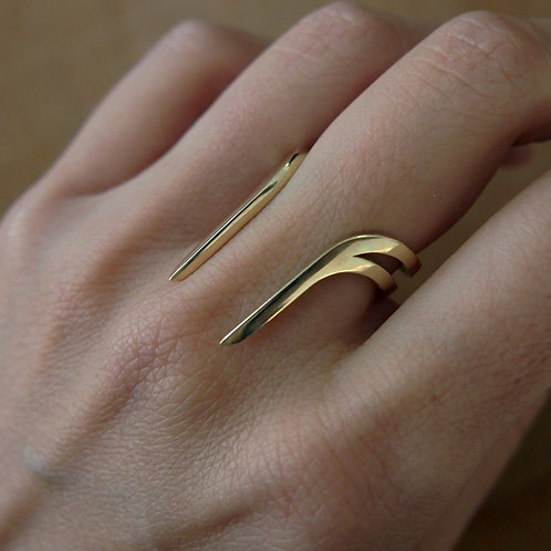 Ada ring - Gold