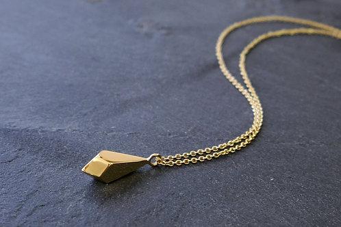 Gravel Pendant - Small - Gold