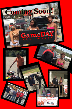 poster gameDAY red